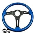 Mofe car 350mm madera real volante deep dish volante para el coche deportivo