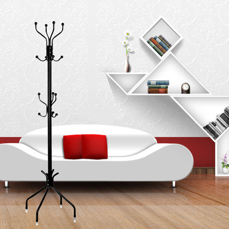 Strong Unique Fashion Metal Wrought Iron Coat Stand Women Coat Stand Collar Perfect Home Decoration For Sale