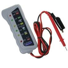 5-14V 6LED 6 LED Lights Display Car Diagnostic Tool Auto Battery Tester Panel Indicator Digital Alternator Tester