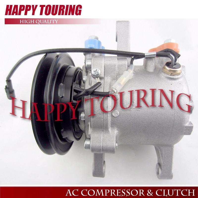 US $116 16 12% OFF|SVO7E AC Compressor for Kubota M108S M5040 M7040 M8540  Tractor SV07E 3C581 97590 3C581 50060 447220 6750 447200 9130-in