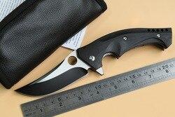 Jufule oem c196 ball bearing folding knife cpm s30v g10 steel handle survival camping knives utility.jpg 250x250