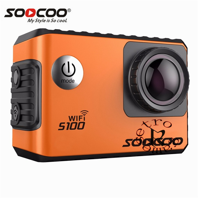 SOOCOO S100 Action Camera 4K Wifi Built in Gyro GPS Extension Go Waterproof Pro Mini Cameras Diving Outdoor Mini Sports DV - 5
