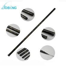 2.7-7.2M Glass Fiber Black Stream Hand Pole Telescopic Spinning Freshwater Fishing Rod Fishing Pole Ultra-light Carp Rod