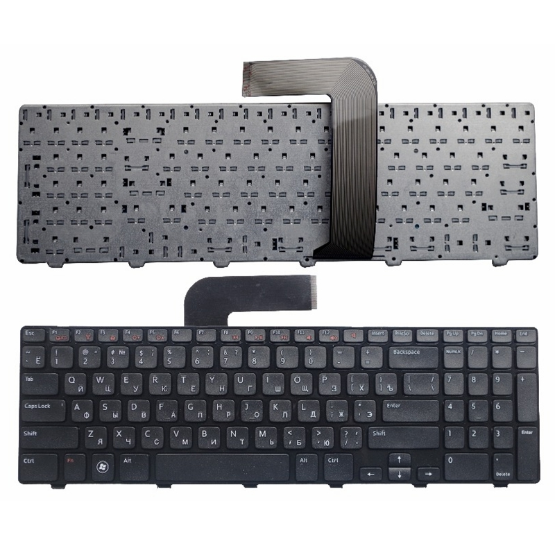 RU Black New FOR DELL N5110 Inspiron 15R Ins15RD-2528 2728 2428 M501Z M5110 M511R Laptop Keyboard Russian