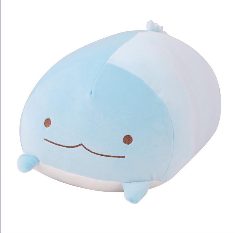 60cm 90cm Sumikko Gurashi corner bio pillow Creature Cute Cat Dinosaur White Bear Penguin Plush Toy 1pcs number