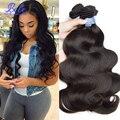 Queen Hair Products 7A Grade Brazilian Virgin Hair Body Wave 3Bundles Unprocessed Brazilian Hair Weave Bundles Body Wave 1B