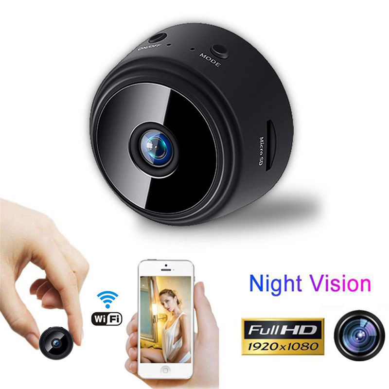 1080P HD Wireless Wifi IP Mini Camera Night Vision With Motion Detection Portable Audio Video Micro Wireless WiFi Camera