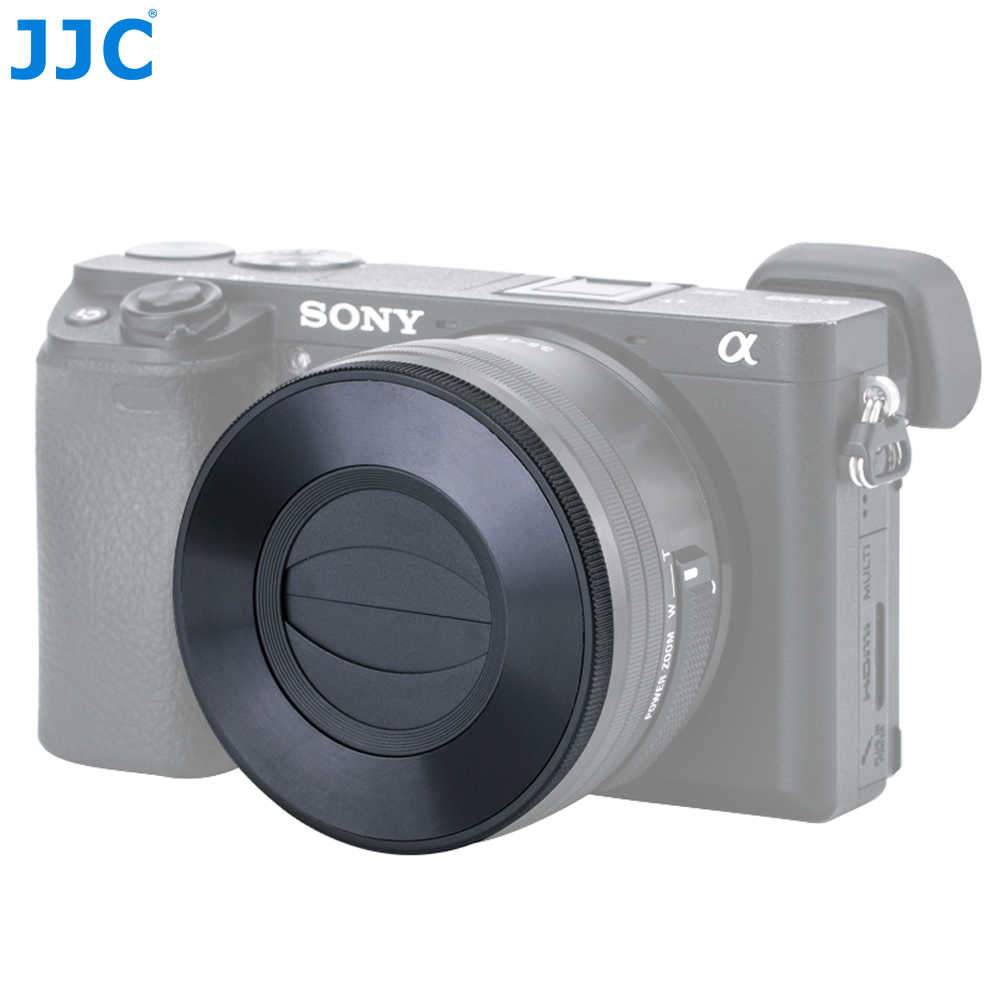 JJC Z-S16-50 Auto Lens Cap for SONY PZ 16-50mm F3.5-5.6 OSS E-mount Lens