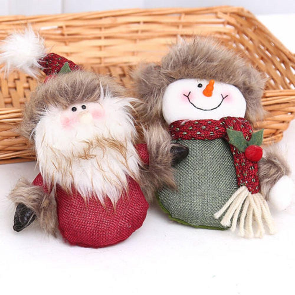 2019 Year Christmas Ornaments Cute Welcome Santa Snowman ...