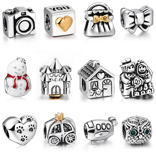 2016 nova on line moda prata esterlina 925 charme encantos europeus Bead Fit diy jóias cadeia feminina cobra pulseira atacado