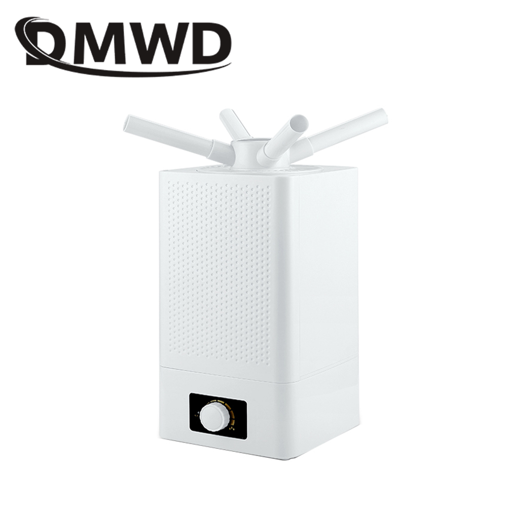 DMWD Industrial Air Ultrasonic humidifier Mute Commercial Supermarket Vegetables Mist Maker 11L Fogger Spray Anion Humidifiers 11l large capacity ultrasonic industrial humidifier 220v mute big fog air humidifier for greenhouse tobacco warehouse atomizer