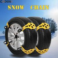 Godersi 8pcs Durable Easy Installation Simple Winter Truck Car Snow Chain Tire Anti Skid Belt FHL4087