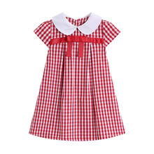 7e6bb7c9684ea Buy girls red plaid dresses and get free shipping on AliExpress.com