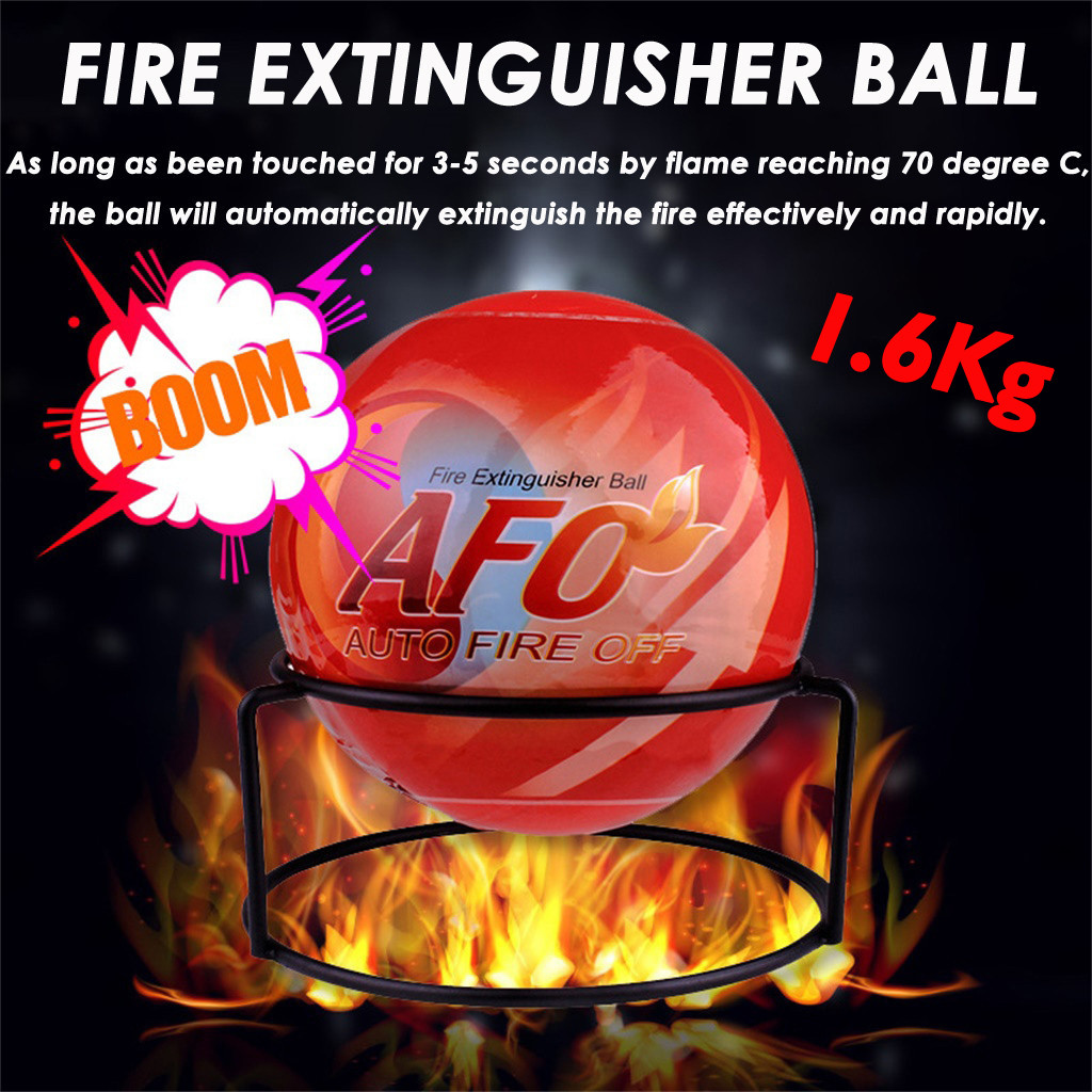 2019 Hot Sale Fire Extinguisher Ball Anti-Fire-Ball Stop Fire Loss Tool Safety Non-Toxic AFO-fire Extinguishing Ball Dropship
