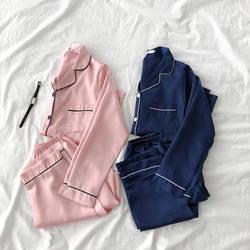 Дешевые оптовая продажа 2019 новый весна, лето, Осень Лидер продаж Женская мода повседневные пижамы FW21