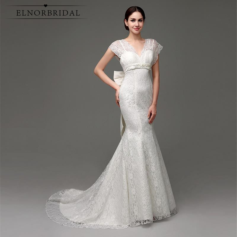 Vintage Lace Mermaid Wedding Dress 2017 Hochzeitskleid Cap Sleeve Open Back Corset Back Trumpet Bridal Dresses From China
