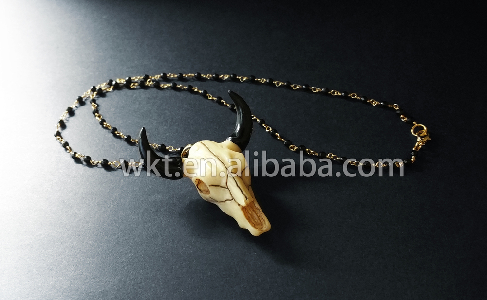 accessories FREE SHIP cow horn necklace buffalo horn necklace horn lacquer necklace jewelry,necklace NEV2160 Horn Necklace