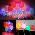 "15pcs LED Balloons 12"" Latex Multicolor Lights Christmas Mothers Day Decoration Wedding Party Festival Supplies Happy Birthday"