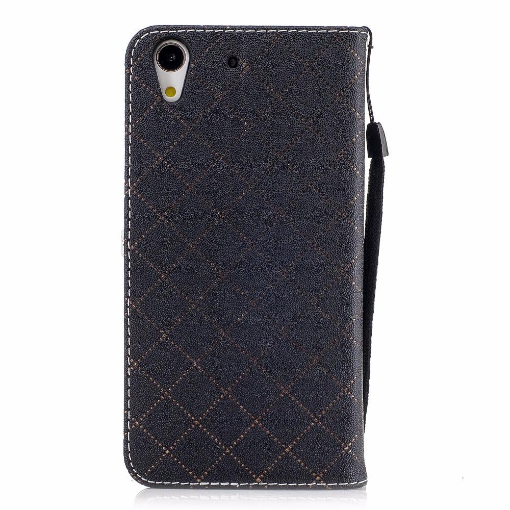 Desxz Hit Love Heart Phone Case for Huawei Y6II Luxury Love Splicing Leather Phone Case for huawei y6ii Y6 II Stand Phone Cases