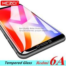 Redmi 6A koruyucu cam 2.5D 9H HD yüksek kaliteli tam ekran koruyucu için Xiaomi Redmi 6A temperli cam