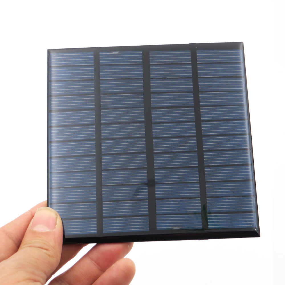 12V 150mA 1.8Watt 1.8W Solar Panel Standard Epoxy polycrystalline Silicon DIY Battery Power Charge Module Mini Solar Cell toy