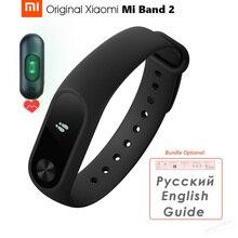 Pulsera inteligente Xiaomi Mi Band 2, reloj inteligente deportivo con Bluetooth, pantalla OLED y control del ritmo cardíaco, IP67