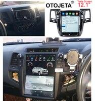 Otojeta вертикальный экран Тесла головных устройств 4 ядра Android 7,1 Автомобильный мультимедийный gps радио плеер для Toyota Fortuner/Revo/hilux 15