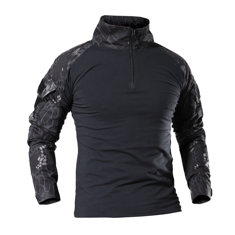 Orologi E Gioielli Faithful Tactical Military Shirt Men Long Sleeve Solider Army Shirts Multicam Uniform Frog Suit Airsoft T Shirts Combat Clothing Men Bringing More Convenience To The People In Their Daily Life
