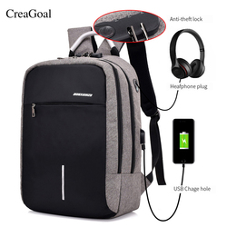 Fashion USB Charge Anti Theft Backpack for Men 15 inch Laptop Mens Backpacks Travel duffel School Bags Bagpack sac a dos mochila