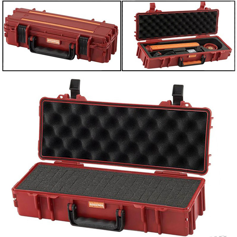 40x16x9.5cm Portable Safety Equipment Instrument Case Plastic Tool Box Outdoor Protection Box With Pre-cut Foam Lining