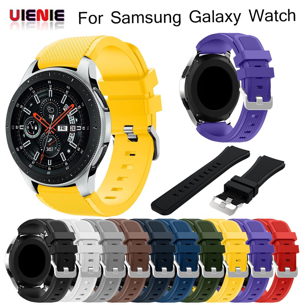 Silicone Wrist Band Strap For Samsung Galaxy Watch 46mm SM-R800/Galaxy Watch 46 SM-R810 Mm Smart Watch