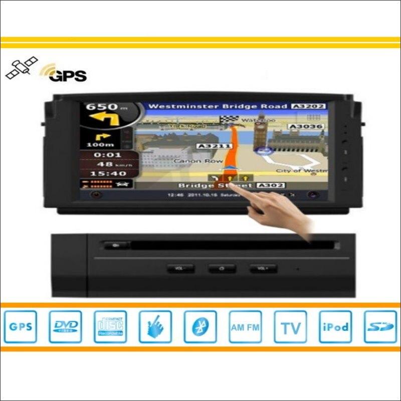 Para Mercedes Benz Clase C W204 2007 ~ 2011 Coches Reproductor de DVD GPS Radio
