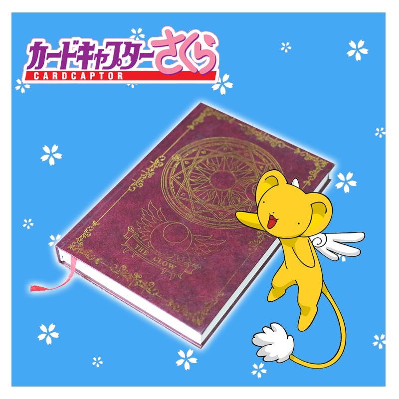 New A5 Anime Card Captor Sakura Fate Black Butler Cosplay Notebook Notepad Stationery Supplies Gift anime cosplay card captor kinomoto sakura jk school cosplay costume girls uniforms costumes coat shirt skirt