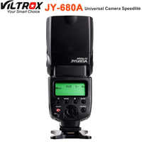 VILTROX JY-680A JY680A Universal LCD de la Cámara Flash para Canon Nikon Pentax Olympus Fujifilm DSLR
