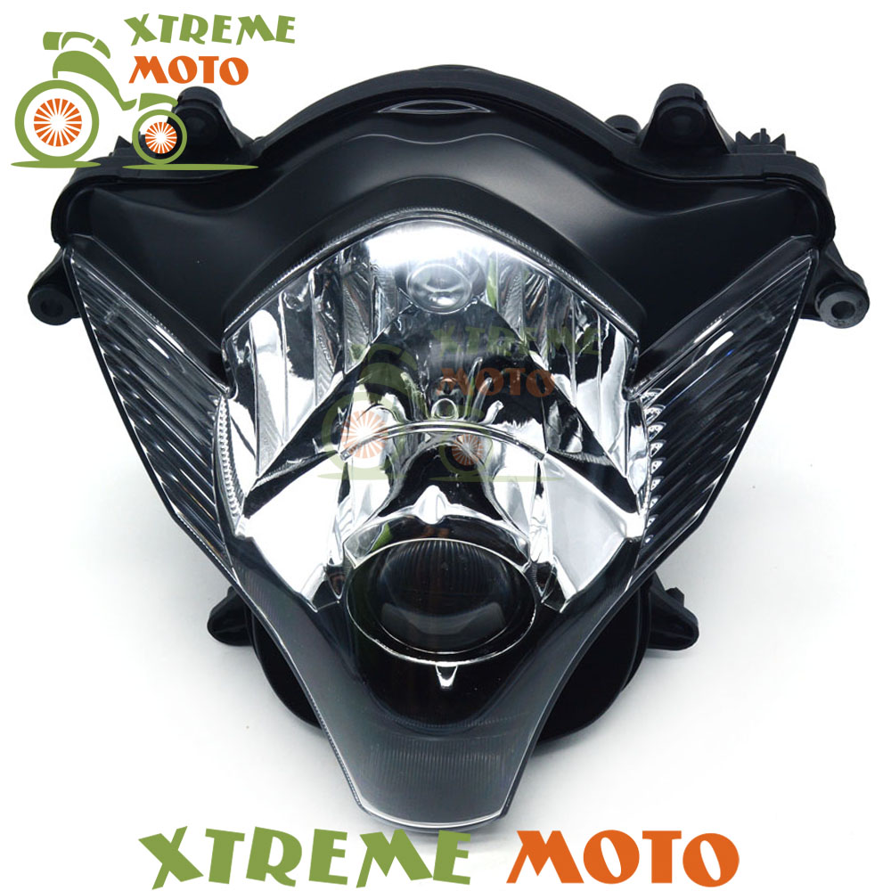 Motorcycle Front Headlights Headlamps Head Lights Lamps Assembly For GSXR GSXR600 GSXR750 2006 2007 SupermotoMotorcycle Front Headlights Headlamps Head Lights Lamps Assembly For GSXR GSXR600 GSXR750 2006 2007 Supermoto
