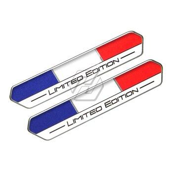 Calcomanía de edición limitada de bandera de España de Francia, calcomanía de tanque de motocicleta para Aprilia Ducati Yamaha Honda Suzuki Kawasaki KTM Benelli