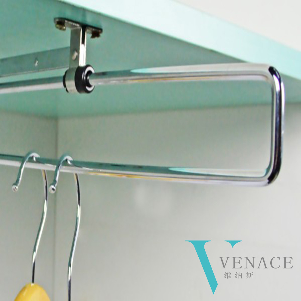 Superieur Wardrobe Accessories Top Mounted Pull Out Wardrobe Rail Closet Hanger In  Hooks U0026 Rails From Home U0026 Garden On Aliexpress.com | Alibaba Group