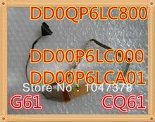 Оригинал ноутбука led видео кабель для hp g61, ДЛЯ Compaq Presario CQ61 Серии DD00P6LC000 DD0QP6LC800