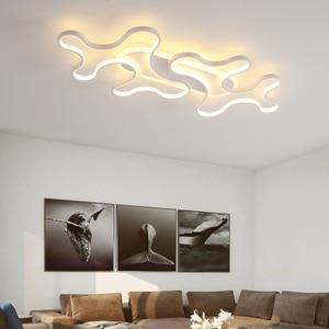 Image 3 - Chandelier Lighting for Living room Bedroom AC85 265V Cloud Lustre for Corridor Entrance Aisle Modern LED Lustre Chandelier