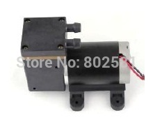 Mini pompe à air/vide dc 24 V/12 V DC Micro pompes à Piston sans brosse 25L/M pression de Vacuum-80kpa 380kpa 650G 58*95*144 MM