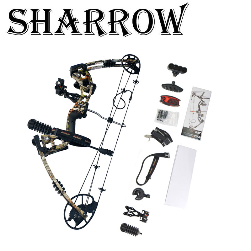 1Set Archery Compound Bow 30-70lbs Set Sight Stabilizer Arrow Rest Compound Bow Accessories Shooting Accessory вода ducray иктиан увлажняющая мицеллярная вода 400 мл
