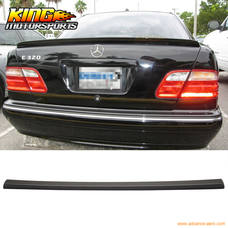 For 95 01 mercedes benz w210 e class rear trunk spoiler for Mercedes benz spare parts price list