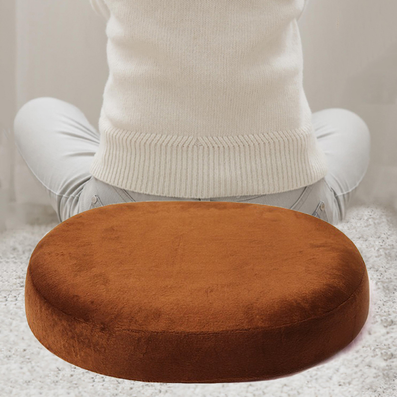 Breathable Chair Seat Cushion Donut Shaped And Coccyx Pain Relief Memory Foam For Office Home Use