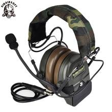 Z tactical SordinยุทธวิธีชุดหูฟังAirsoft Comtac ZComtac Iหูฟังสไตล์ยุทธวิธีหูฟังชุดหูฟังหูฟังตัดเสียงรบกวนPTT