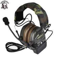 Z tactical Sordin taktyczne słuchawki Airsoft Comtac ZComtac I zestaw słuchawkowy styl taktyczne słuchawki kask Z redukcją szumów słuchawki Ptt