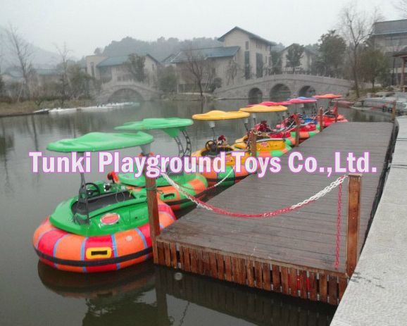 inflatable pool for children with bumper boat