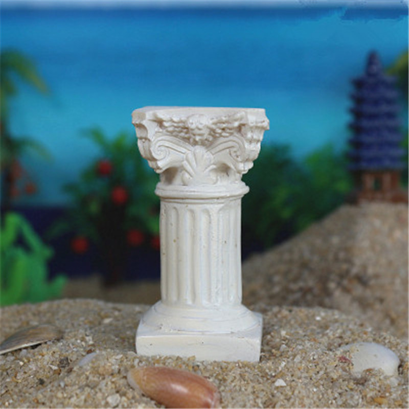 Toys & Hobbies Devoted Wholesale 300pcs/lot Marble Pillar Building Model Resin Craftwork Psychological Sand Table Pillar G1448