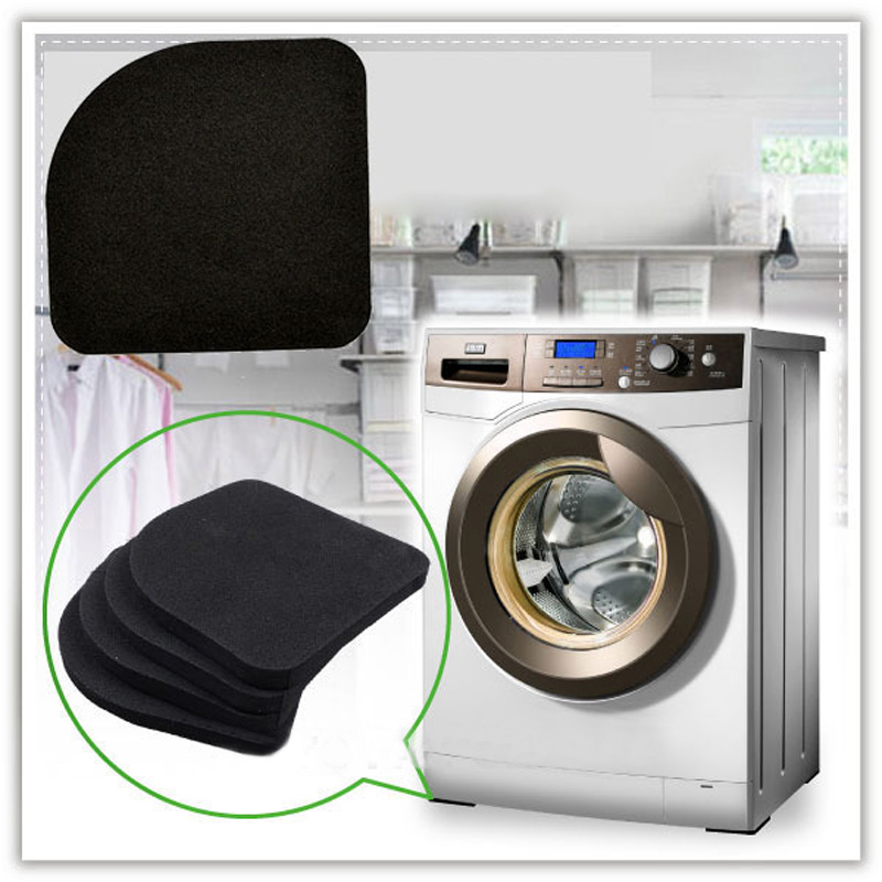 4x Eva Foam Anti Vibration Pads Washer Dryer Machines Reduce Noise Walking