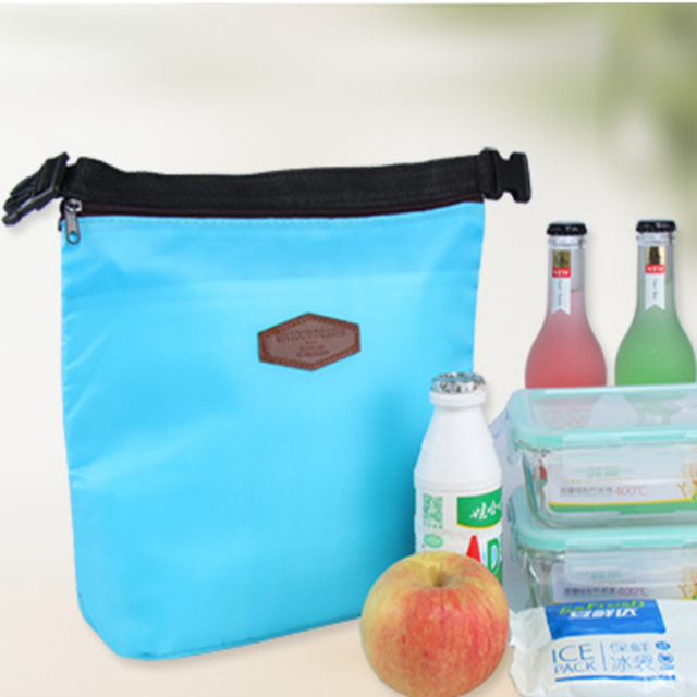 Lunch Picnic Bag Thermal Insulated Waterproof Lunch Picnic Tote Storage Carry Bag Cooler Bag Insulation Meal Picnic Bag