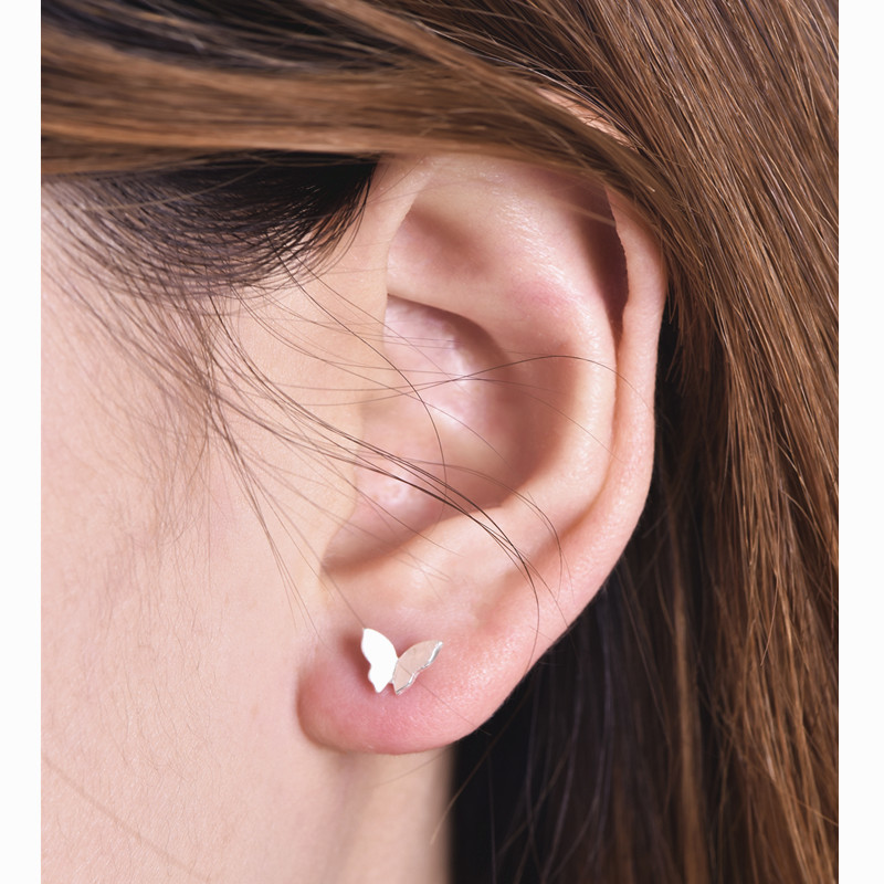 New Stud Earrings For Women Gold Color Punk Earrings simple design Hiphop  Fashion aros harajuku jewelry 7ff5d288ea